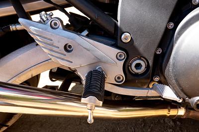 Motorcycle peg