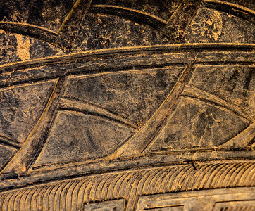 Tire tread abstract