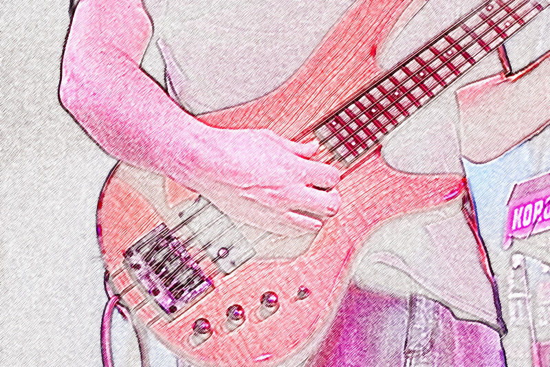 This is a colored in base guitar from a Strangefolk show I was photographing.<br /> Photograph/Design by,<br /> Daniel Straine
