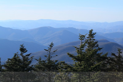 Blue Ridges from Mount Mitchell