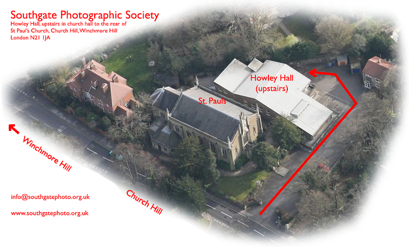 SPS Howley Hall aerial shot and directions
