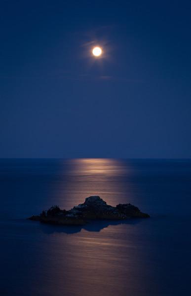 Full Moon, Start Point, Devon