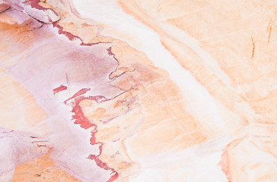Texture in sandstone. Taken in the Gold Butte area of Nevada, USA.