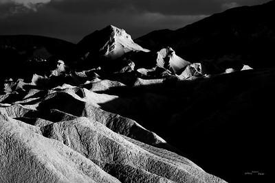 Illuminated peaks