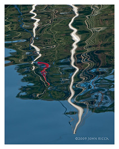 Gullet Reflection in the Aegean Sea