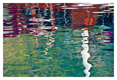 Gullet Reflection in the Mediterranean Sea