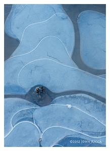 Yosemite Ice Abstract 21