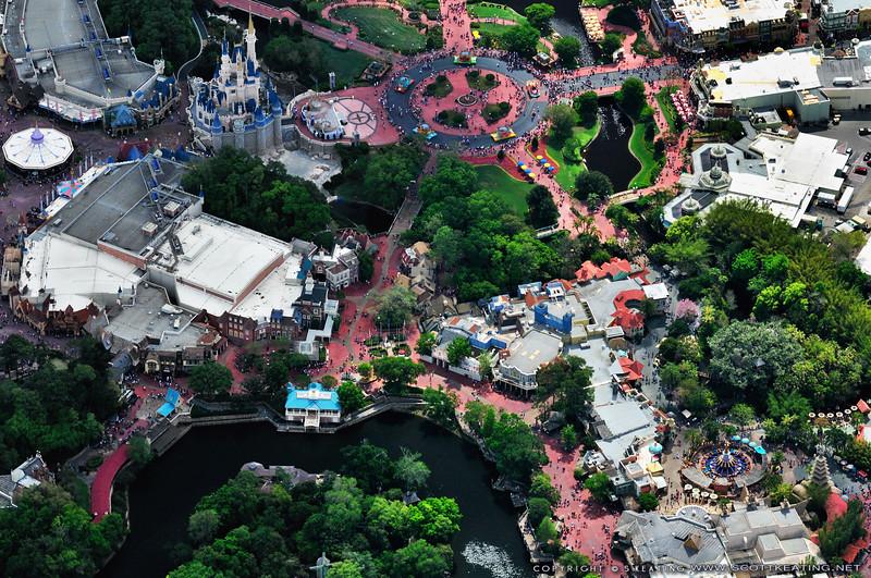 Disney's Magic Kingdom, Disney World - Lake Buena Vista/Orlando, FL