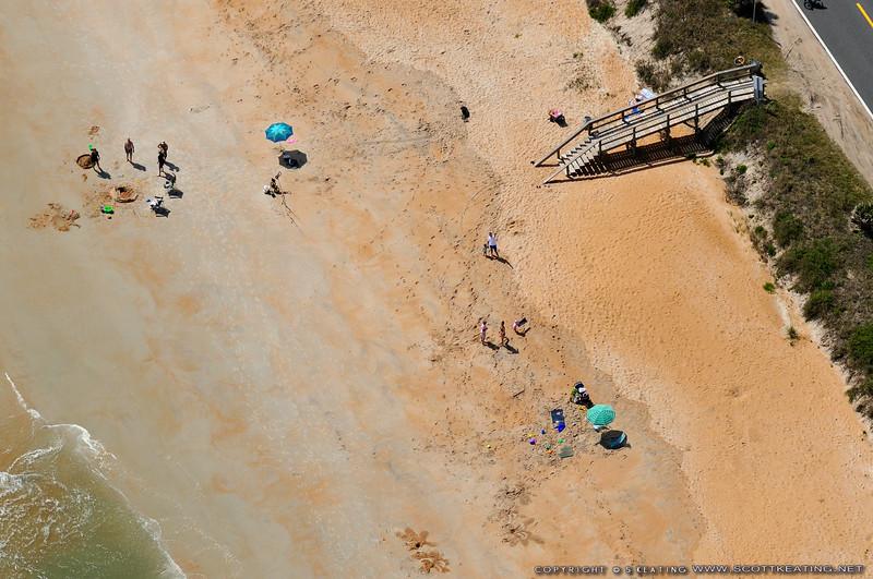Beach Scene - Flagler County, Florida