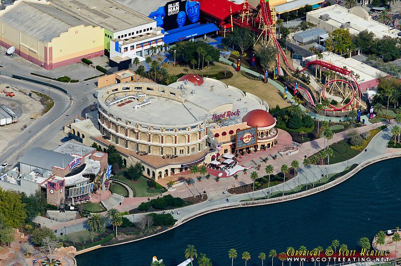 Universal Studios, Hard Rock Cafe - Orlando, FL