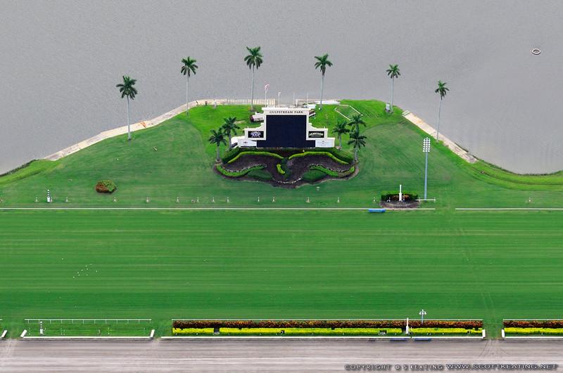 Gulfstream Park horse racetrack - Hallandale, Florida