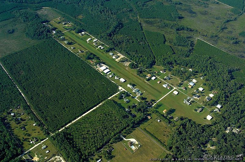 Haller airfield, near Jacksonville, FL
