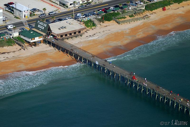 Flagler Beach Pier - Flagler Beach, Florida