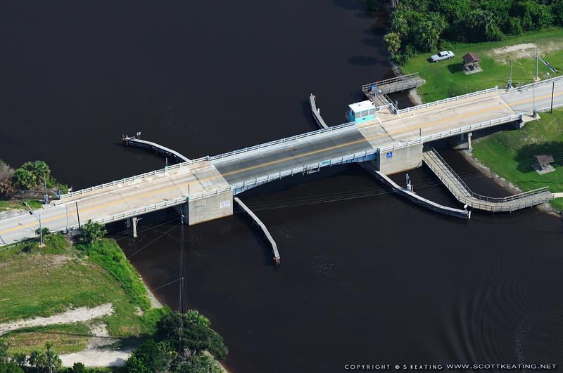 Knox Memorial Bridge at Highbridge over the Intracoastal Waterway - Ormond Beach, FL