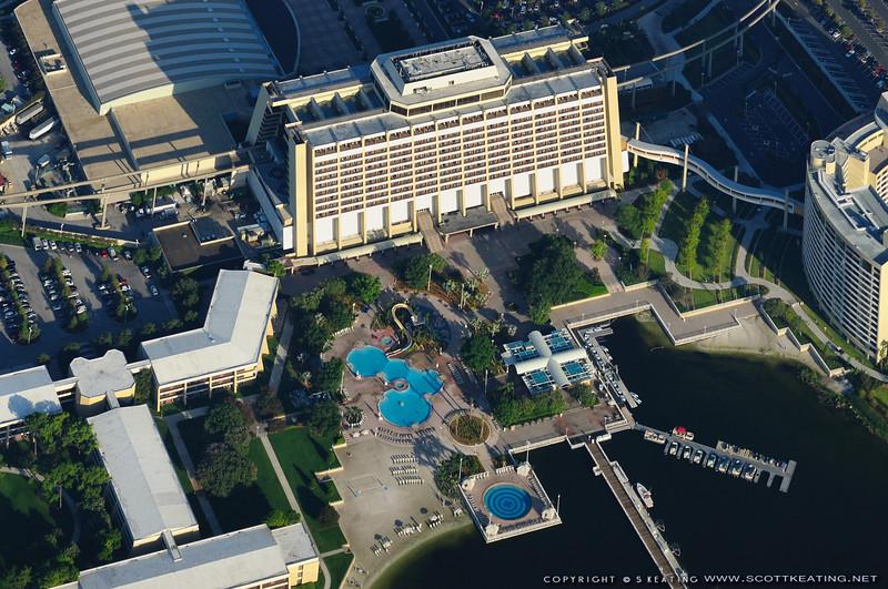 Disney's Contemporary Resort - July 2009