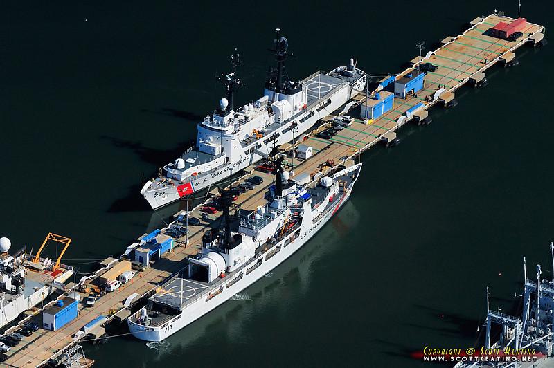 USCG ships - Charleston Harbor, SC