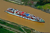 Cosco New York, container ship - Panama Canal