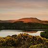 Sunset at Burrator, Dartmoor, England