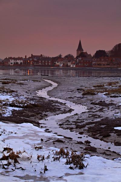 Frosty Bosham, West Sussex