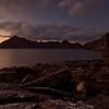 The Cuillins at dusk, Elgol, Skye