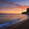 Durdle Door sunset, Dorset