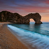 Durdle Door at Dusk, Dorset