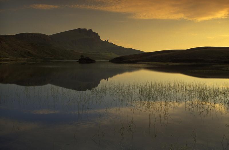 Old Man Of Storr at dawn, Skye