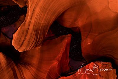 Antelope Canyon Night Sky