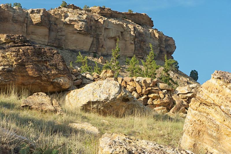 Rourke Ranch rock wall