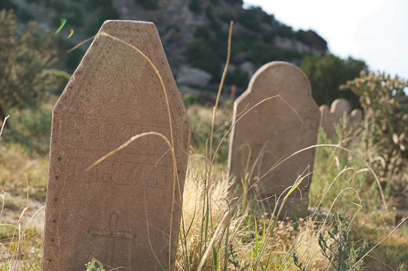 19th century Hispanic Mission cemetery