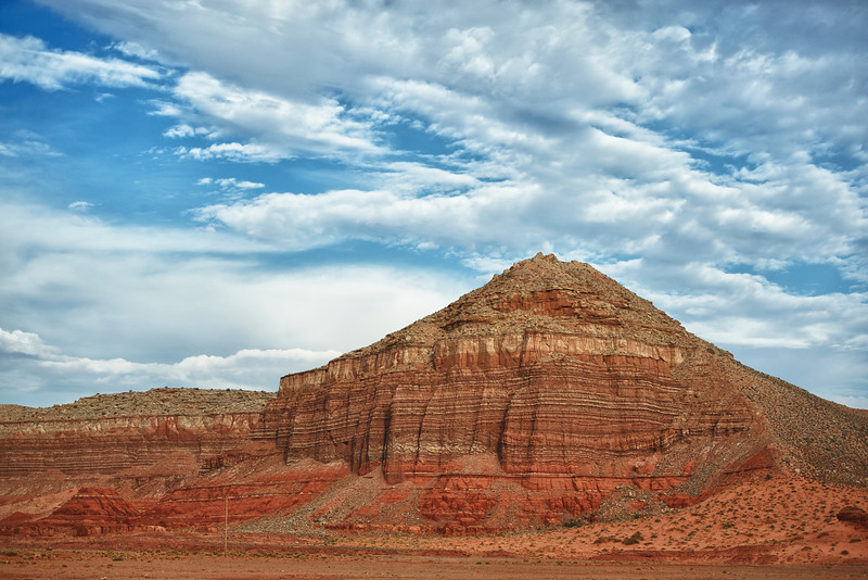 Red Butte in southeastern Utah