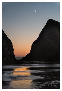 Arch Cape Sunset 1
