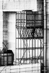 Construction site abstract