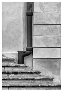 Drainpipe & Stairs