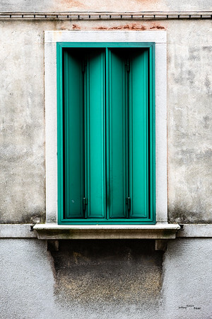 What's Behind the Green Doors with texture