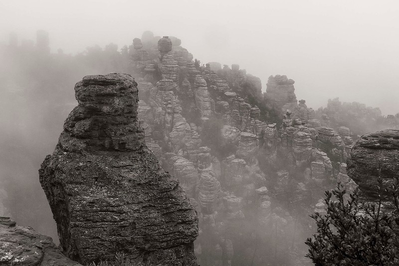 In the Clouds 2, Chiricahua National Monument, Arizona