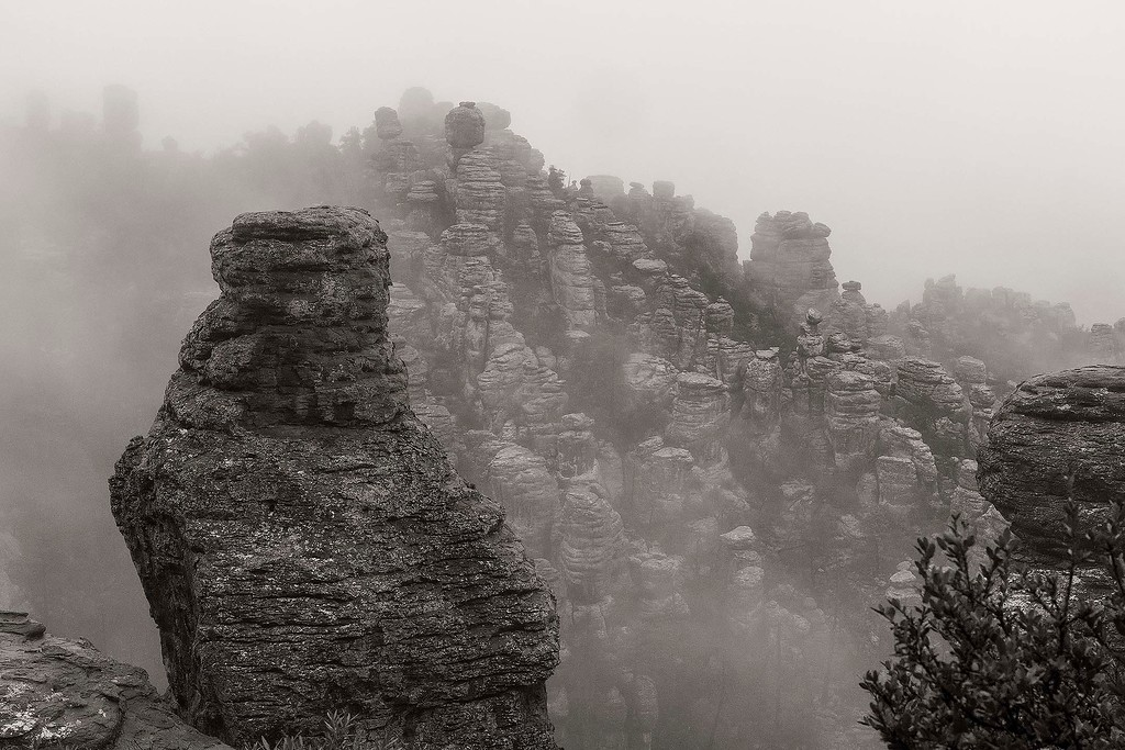 A different view, Chiricahua National Monument, Arizona
