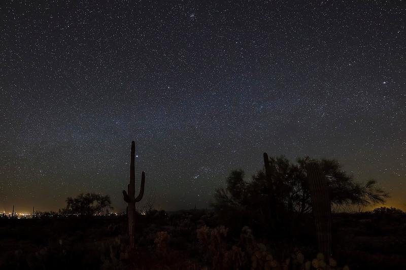 2 - Milky Way, near Desert Museum, Tucson, Arizona