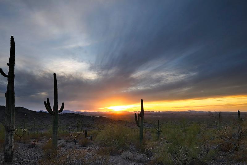 2 - Sunset from Picacho Peak State Park, Arizona