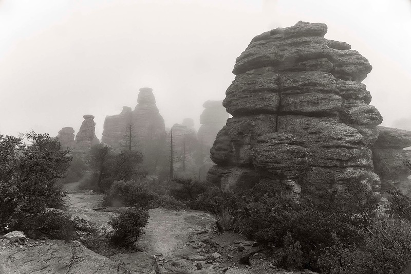 2 - In the Clouds, Echo Canyon Trail, Chiricahua National Monument, Arizona