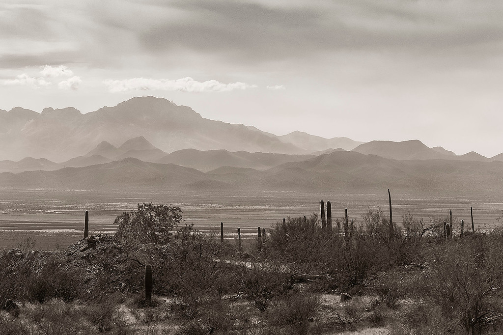 2 - Looking west from Desert Museum, Tucson, Arizona