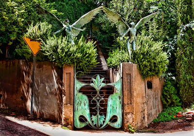 Angel Gate in Old Bisbee
