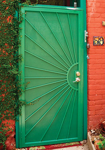 Old Bisbee Door