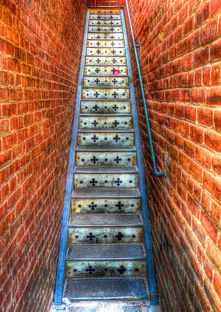Hidden Staircase in Bisbee, Arizona