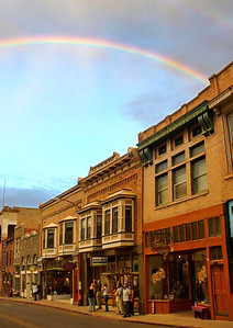 Rainbow Over Main Street