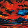 Red Skies Over Chaco (oil, 36x42) - $500
