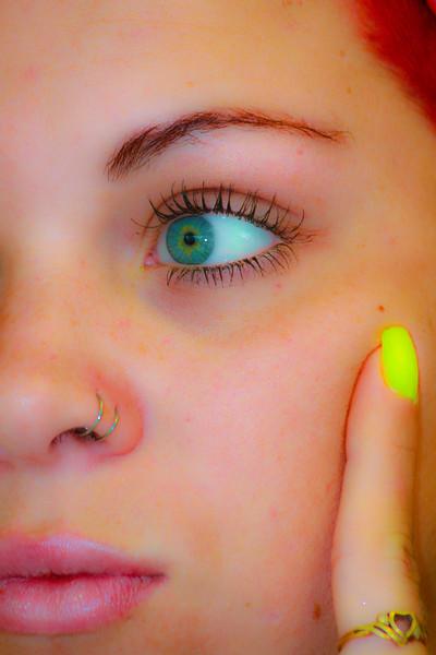 Title: Closeup in the Beauty Salon <br /> Location: Massachusetts, USA