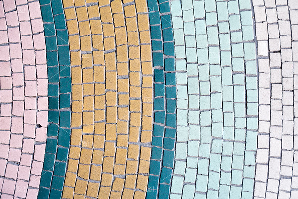 Mosaic tile abstract background