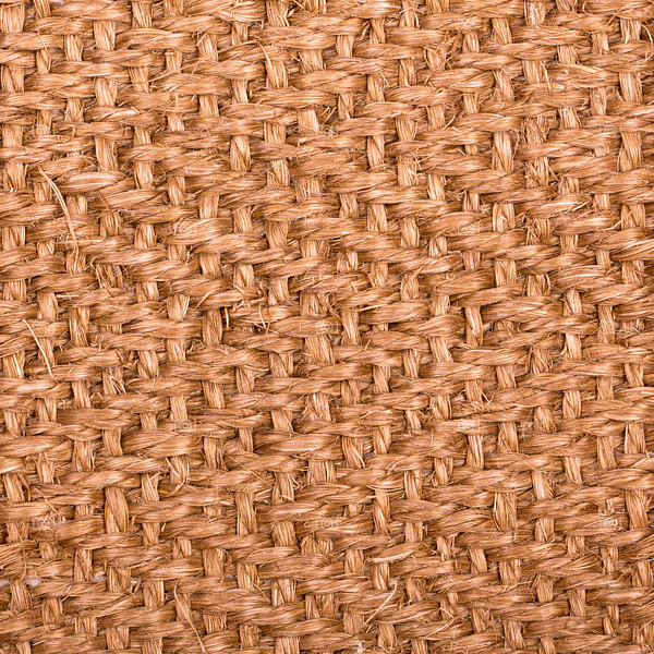 Sisal matting background.