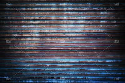 Rusted metal grille background.